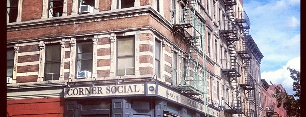 Corner Social is one of Uber's Guide to Harlem.