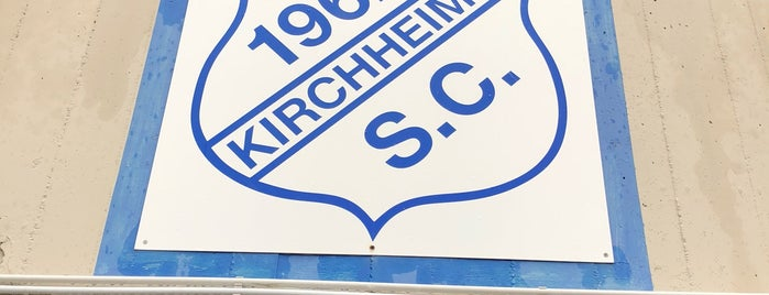 Sportplatz S.C. Kirchheim is one of Football Grounds Munich.