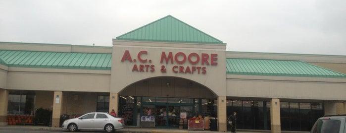 A.C. Moore is one of Tempat yang Disukai George.