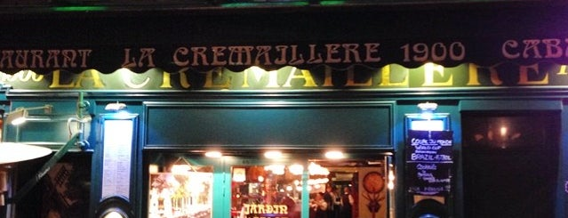 La Crémaillère 1900 is one of Paris Restaurants.