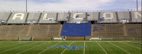 US Air Force Academy Falcon Stadium is one of FBS Stadiums.