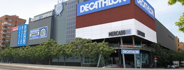 Decathlon Campanar is one of Orte, die Claudia gefallen.