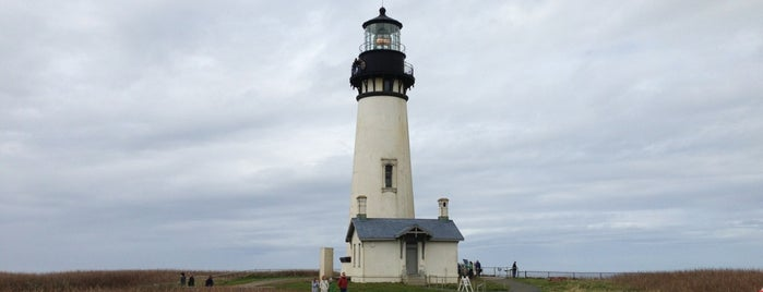 Yaquina Head Lighthouse is one of Oregon Coast.