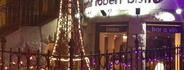 Petit Robert Bistro is one of BOS.
