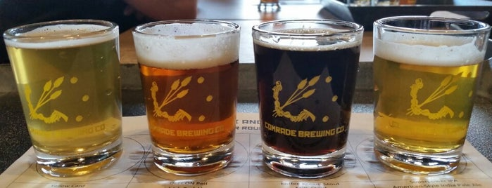 Comrade Brewing Company is one of Lugares favoritos de Ryan.