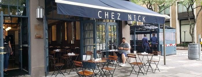 Chez Nick is one of UES Restaurants.