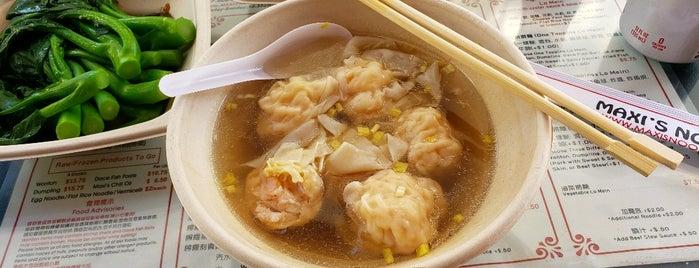 Maxi's Noodle is one of Noodles & Dumplings.