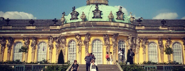 Schloss Sanssouci is one of Berlin.