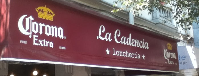 La Cadencia Lonchería is one of Lieux qui ont plu à Juan Carlos.