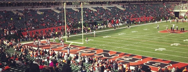 Paul Brown Stadium is one of The Most Popular Football Stadiums in the US.