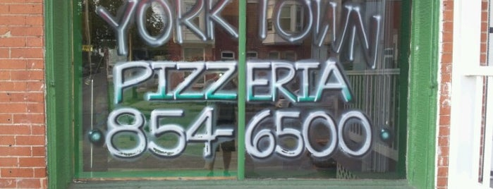 Yorktown Pizzeria is one of York College Student Hotspots.