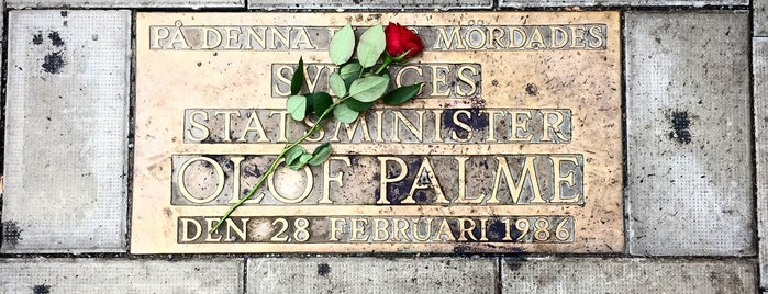 Olof Palme Memorial is one of 4sq SUs Sweden 님이 좋아한 장소.