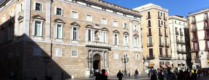 Plaça de Sant Jaume is one of BCN**.