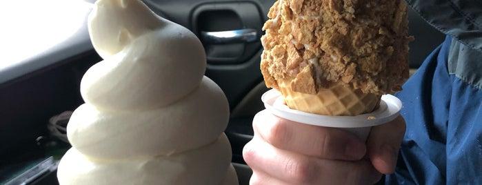 Burton's Comfort Creamery is one of Around America.