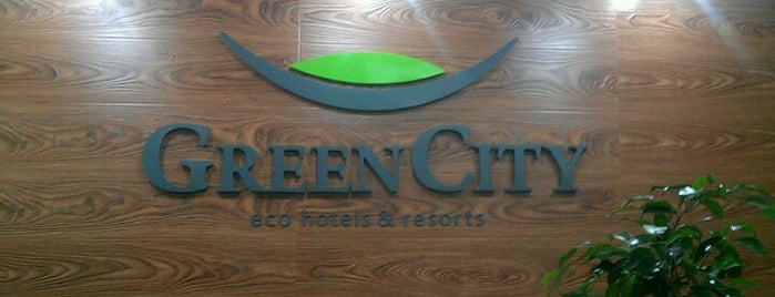 Green City Spa & Resort is one of Erzat 님이 좋아한 장소.