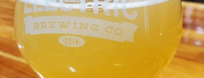 Electric Brewing Co. is one of California Breweries 5.