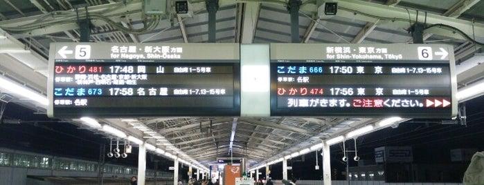 Shinkansen Mishima Station is one of Tempat yang Disukai Masahiro.