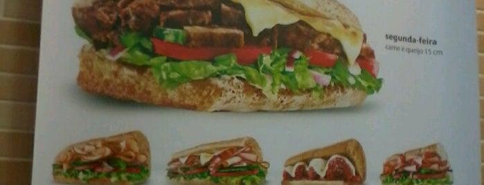Subway is one of สถานที่ที่ Carlos ถูกใจ.