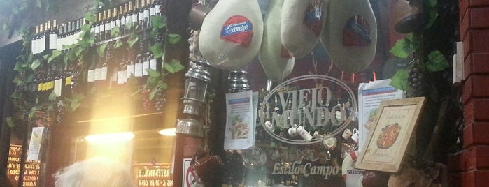 Viejo Mundo is one of Restaurants.