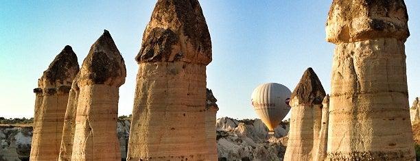Aşk Vadisi is one of Breathtaking Cappadocia/Kapadokya.