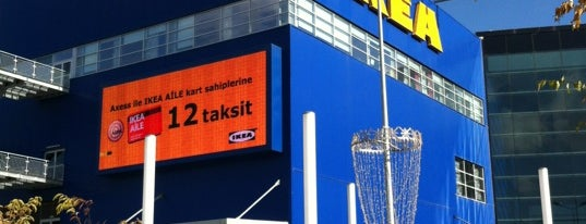 IKEA is one of Check-in 3.