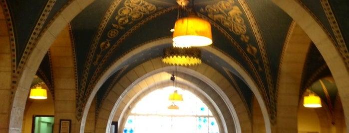 Ymca Three Arches Hotel Jerusalem is one of Tempat yang Disukai Bülent.