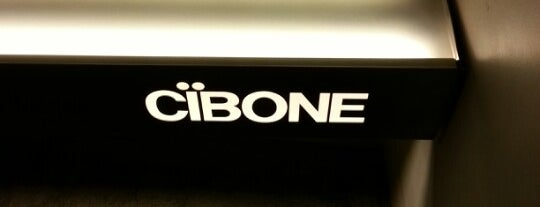 CIBONE is one of Shops Tokyo.