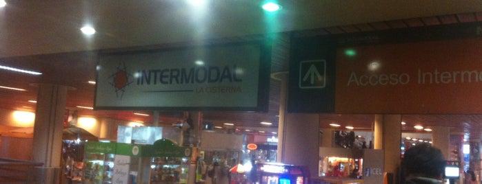 Estación Intermodal La Cisterna is one of Posti che sono piaciuti a Rosario.