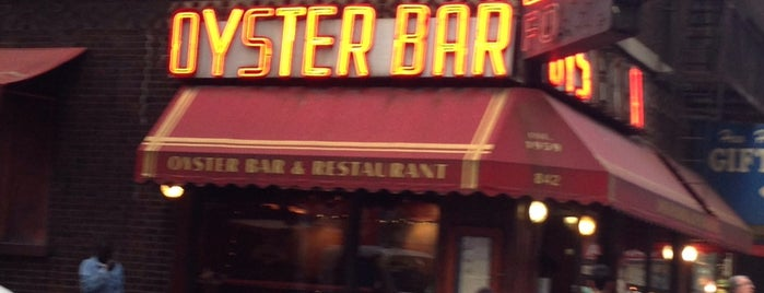 The Famous Oyster Bar is one of Raw Bars.