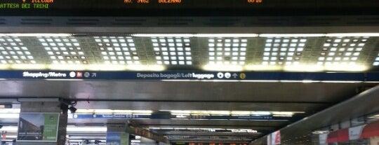 Stazione Roma Termini is one of Top 100 Check-In Venues Italia.