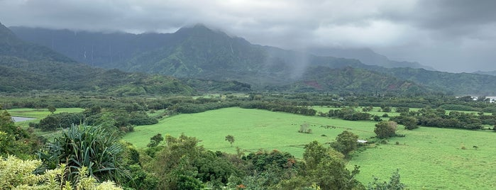 Hanalei Bay Lookout is one of To-Do in Kauai.
