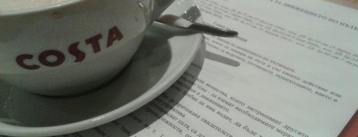 Costa Coffee is one of Lugares favoritos de Paul.