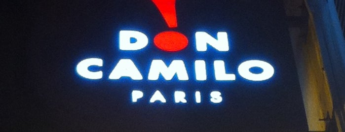 Don Camilo is one of Paris.