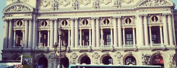 Opéra Garnier is one of Bienvenue en France !.