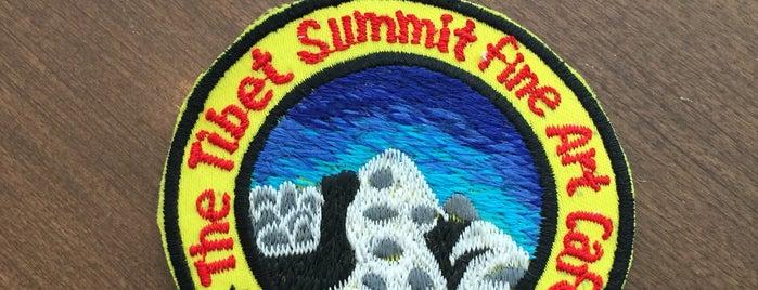 Tibet Summit Cafe is one of Locais salvos de Bridget.