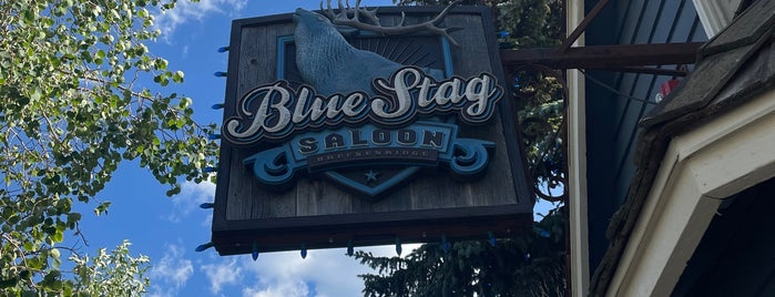 Blue Stag Saloon is one of Tappin the Rockies...