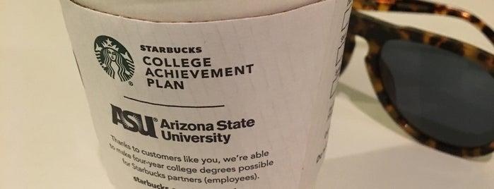 Starbucks is one of Mike 님이 좋아한 장소.