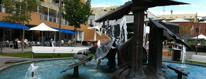 Salamanca Square is one of Go back to explore: Hobart.
