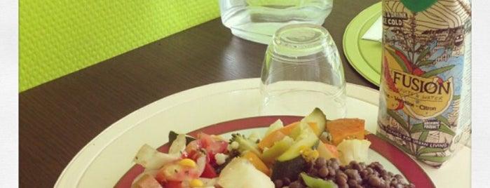 La Table Verte is one of Healthy & Veggie Food in Paris.