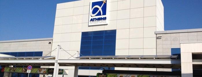 Athens International Airport Eleftherios Venizelos (ATH) is one of Greece.