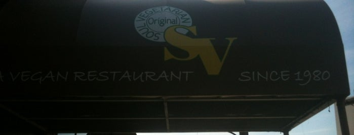 Original Soul Vegetarian is one of Posti salvati di Jeff.