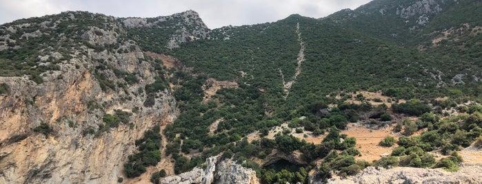 Kara Mağara is one of สถานที่ที่บันทึกไว้ของ Melek.