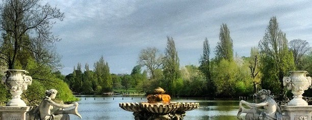 Kensington Gardens is one of Must Visit London.