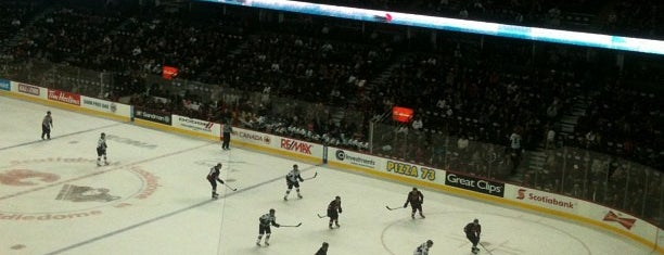 Scotiabank Saddledome is one of NHL Arenas 2013.
