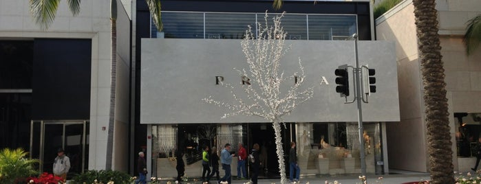 Prada is one of My FAV Hot Spots.