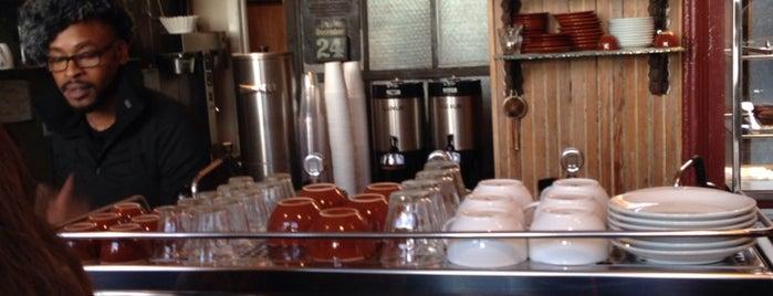 Bowery Coffee is one of Coffee Shops Below 14th Street.