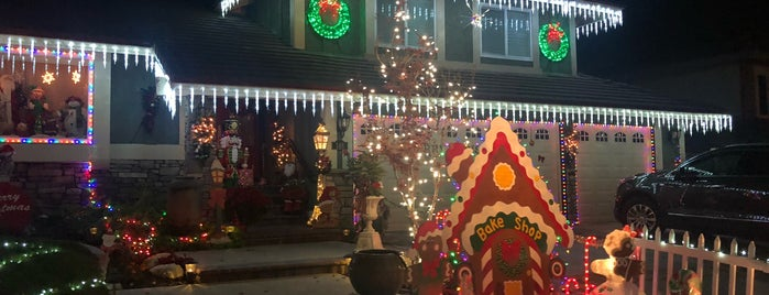 Brea Christmas Lights is one of Socal.