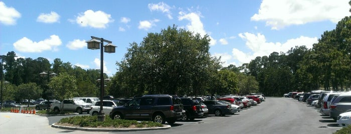 Wilderness Lodge Parking Lot is one of Disney World Vacation.