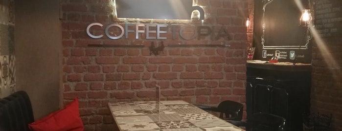 Coffeetopia is one of Tempat yang Disukai 🇹🇷 Samimî.