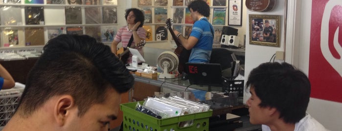 Hungry Ear Records is one of Honolulu.